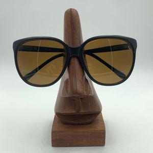 Vintage Revo Black Oval Oversized Sunglasses